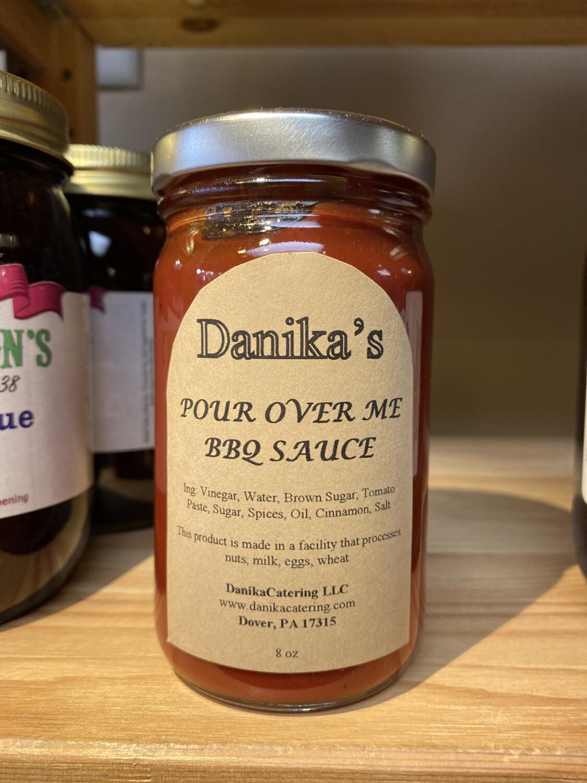Danika Pour Over Me BBQ Sauce