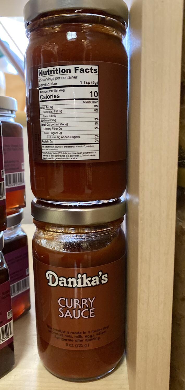 Danika Curry Sauce