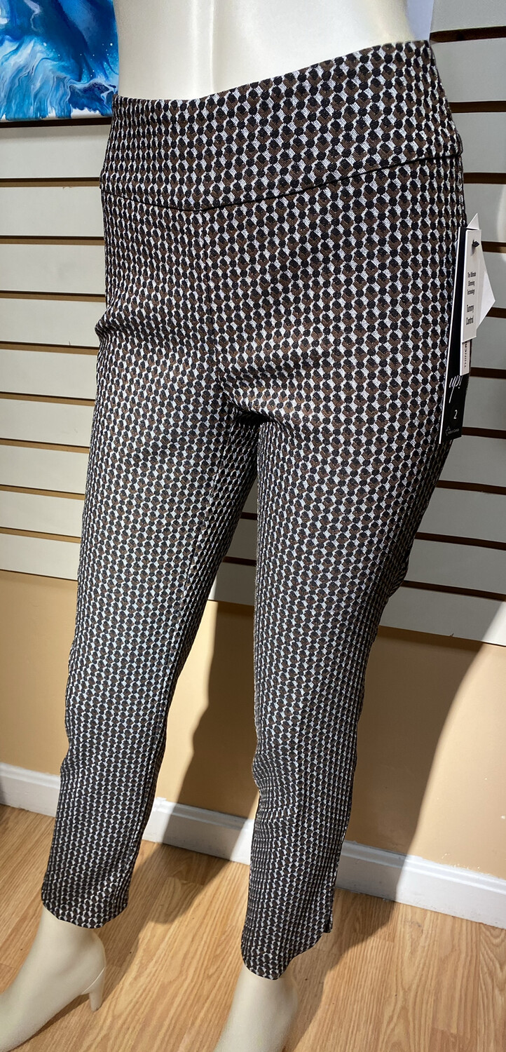 Up Optic Pant Browns And Silver Size  2