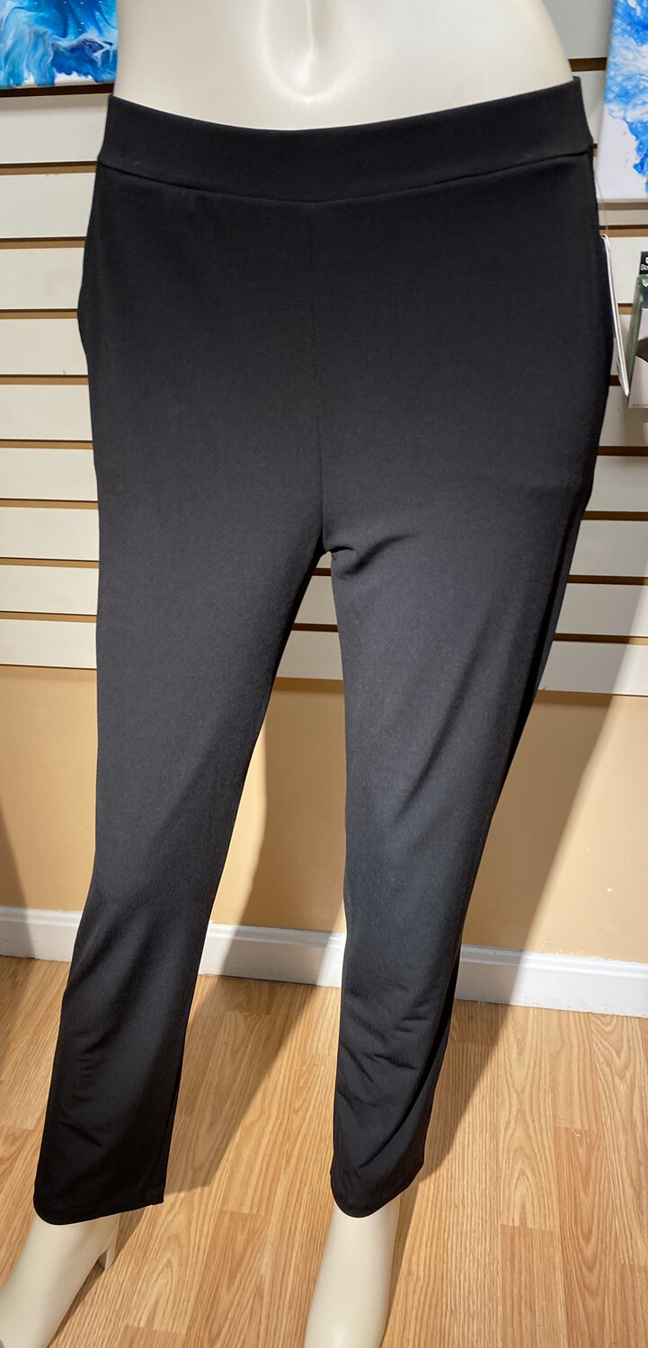 Clara Pant With Pockets Black XL