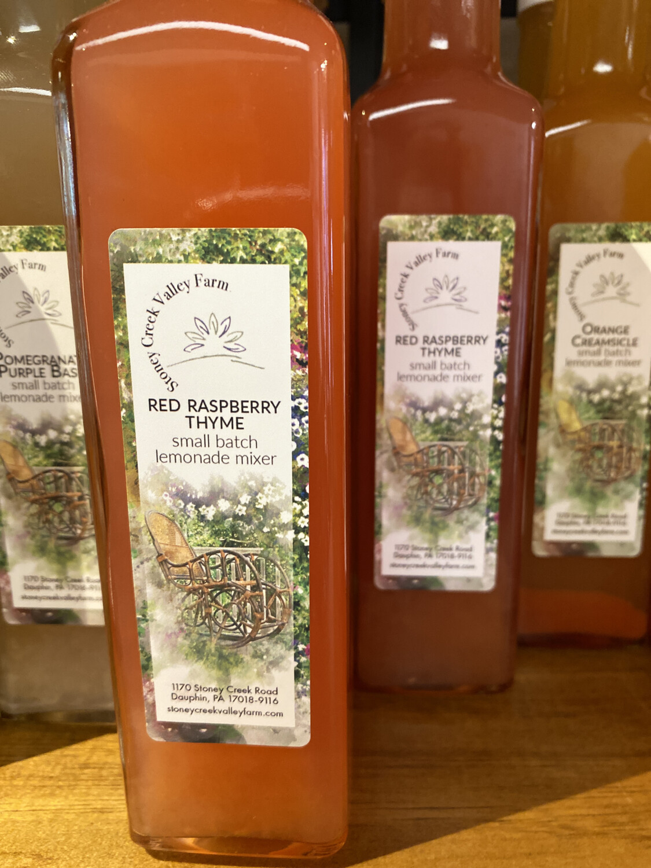 Red Raspberry Thyme Lemonade Mixer