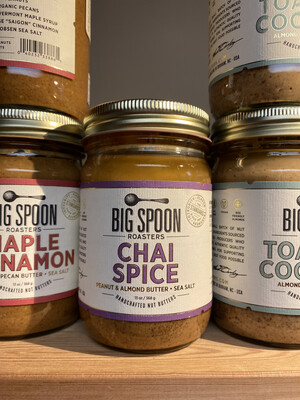 BS Chai Spice Nutbutter