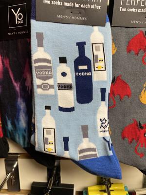 Yo Sox Vodka Socks