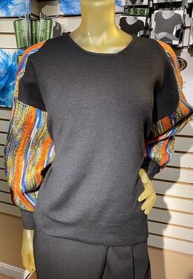 Apricot Multicolor Sweater L