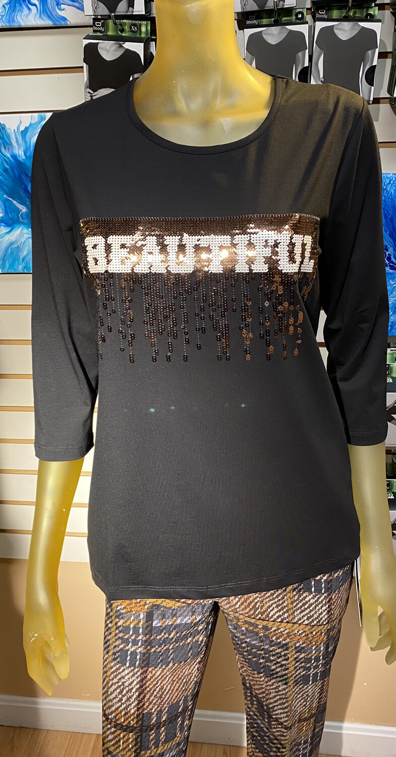 Coco Beautiful Tee Black XS