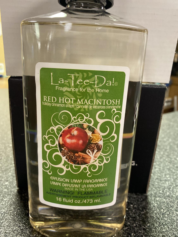 La Tee Da Red Hot Macintosh Holiday Cinnamon Snaps