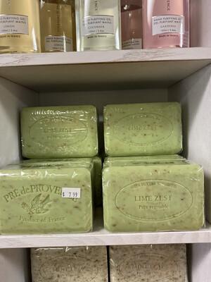 Pre De Provence Large 250G Lime Zest Soap