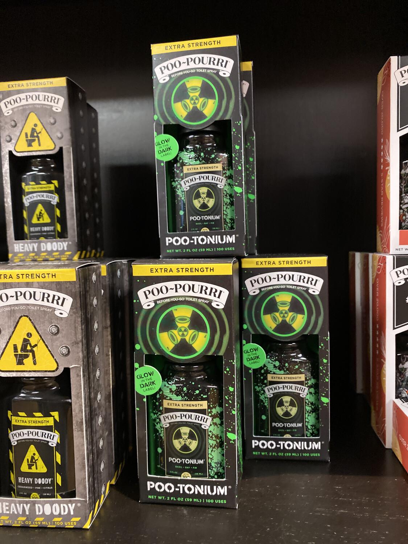 Poo- Pourri Poo- Tanium Glow In The Dark Bottle