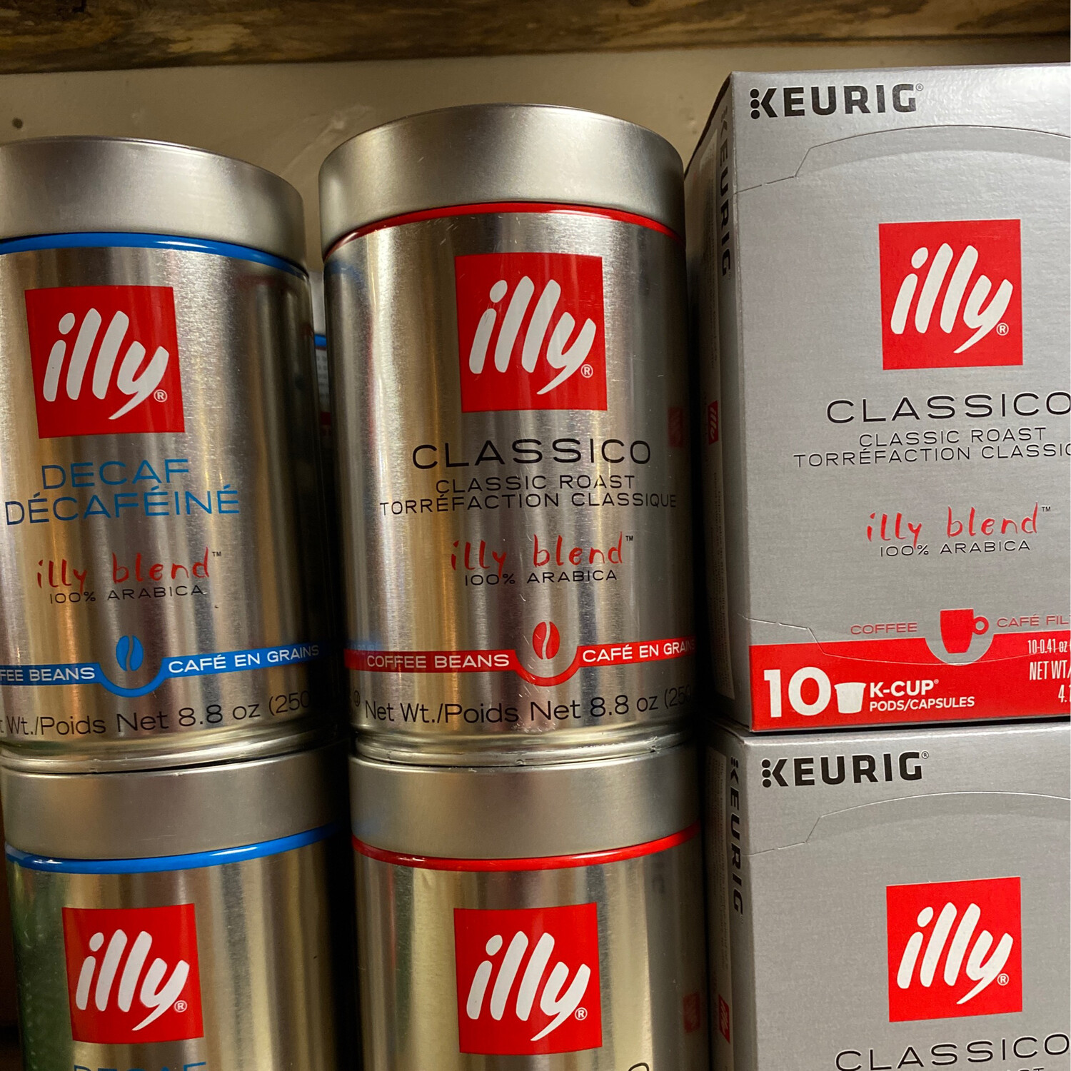 Illy Classico Whole Bean