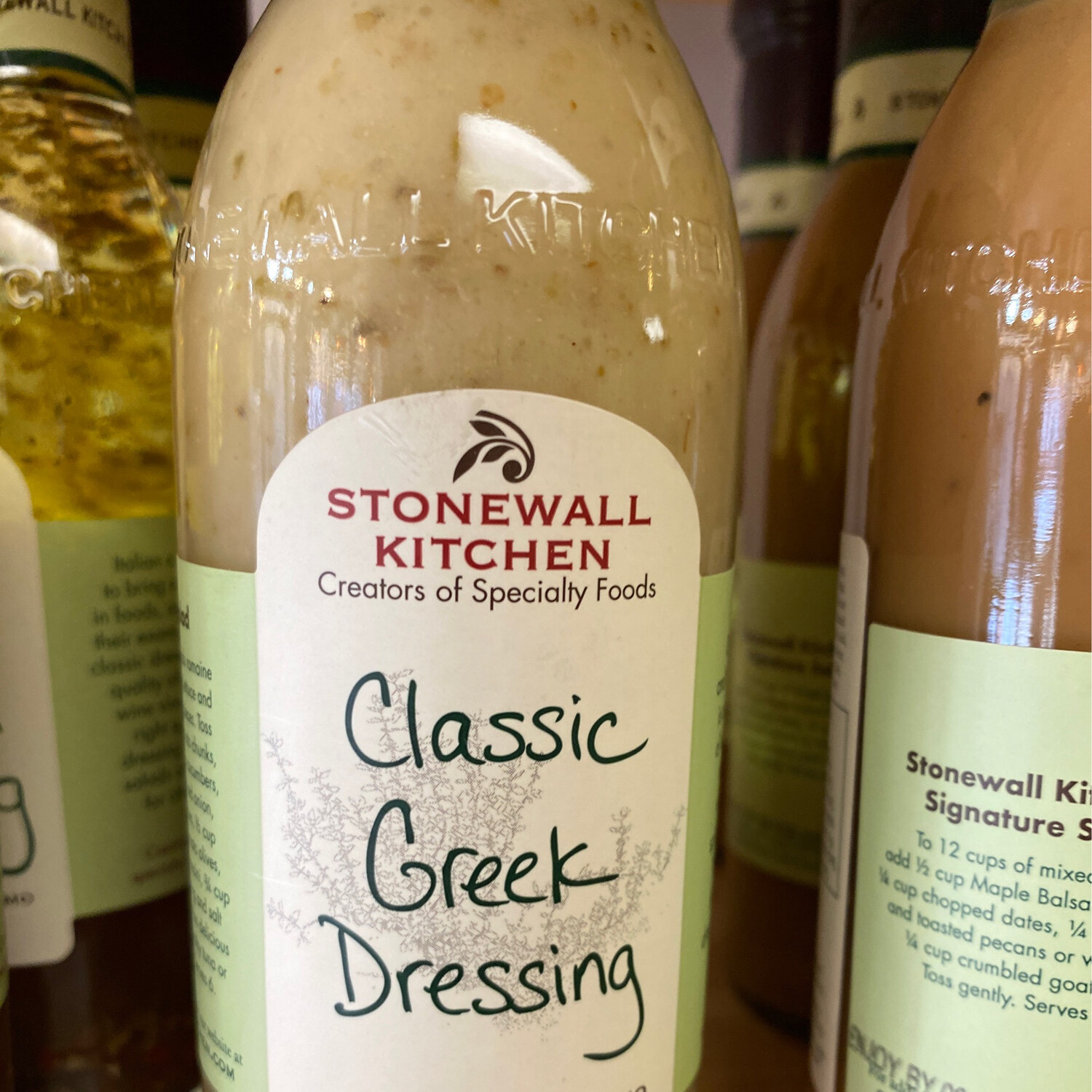 Stonewall Classic Greek Dressing