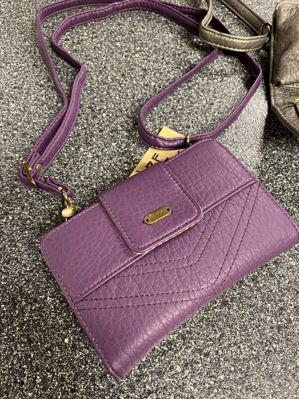 Amphere Vegan Wallet Purple