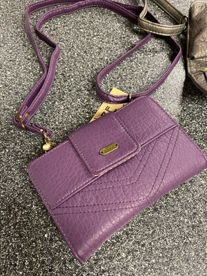 Amphere Vegan Wallet Purple