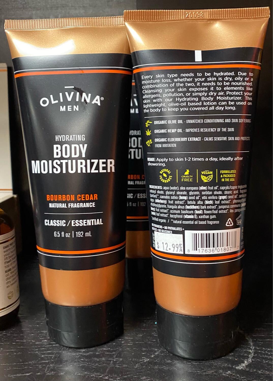 Bourbon Cedar Body Moisturizer