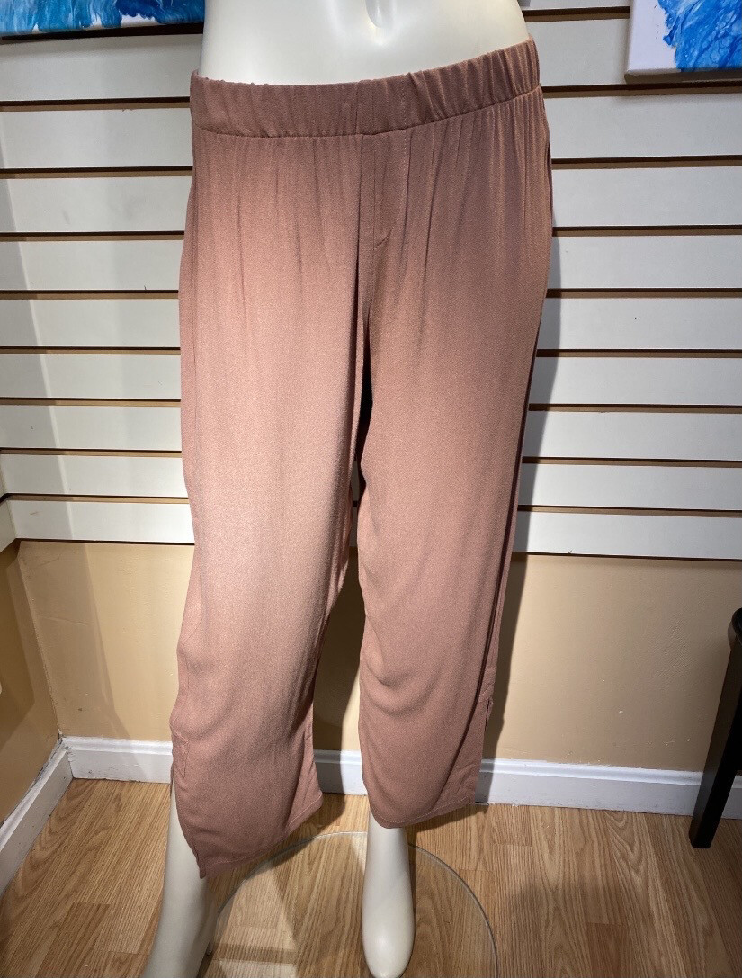 Major Deal Inside Out Comfy Pant Dark Blush Size M Like 8/10