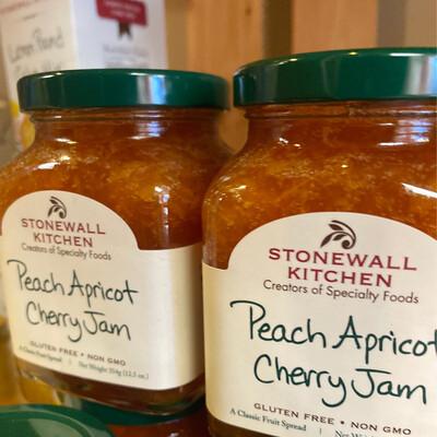 Stonewall Kitchen Peach Apricot Cherry Jam