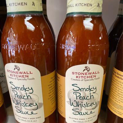 Stonewall Kitchen Smoky Peach Whiskey Sauce