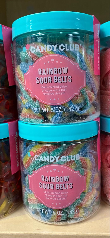Candy C Rainbow Sour Belts
