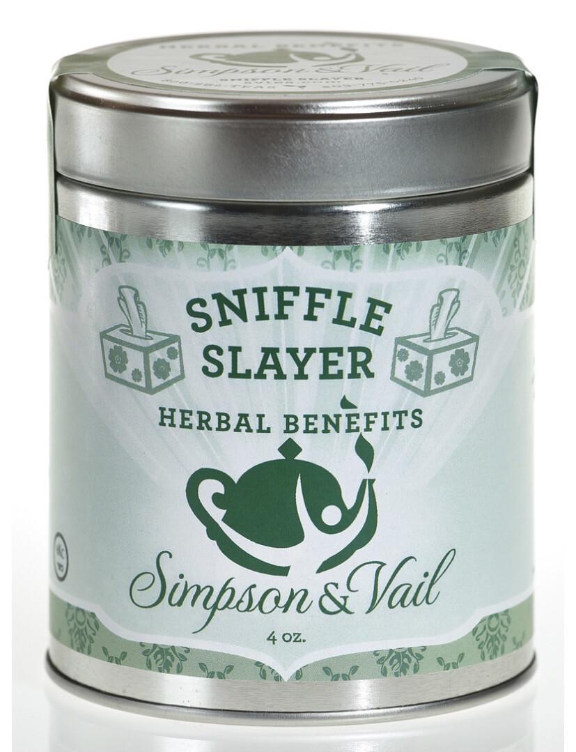 S&V Sniffle Slayer Herbal Tea