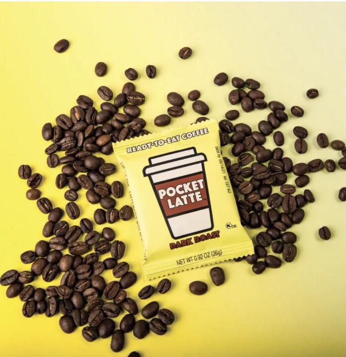 Pocket Latte Dark Roast One Square =one Coffee