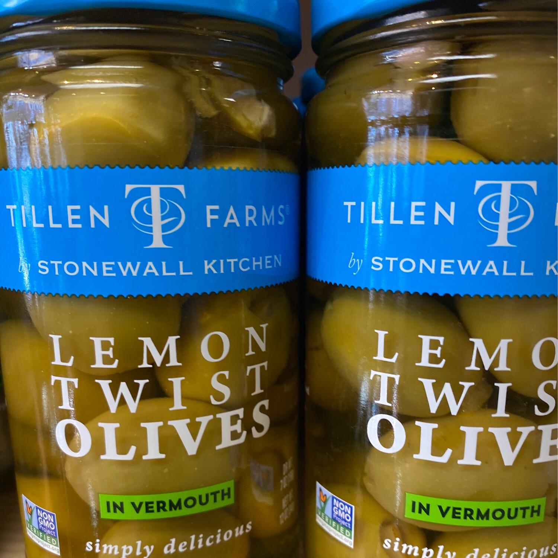 TF Lemon Twist Olives