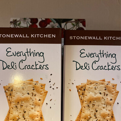 Stonewall Kitchen Everything Deli Cracker