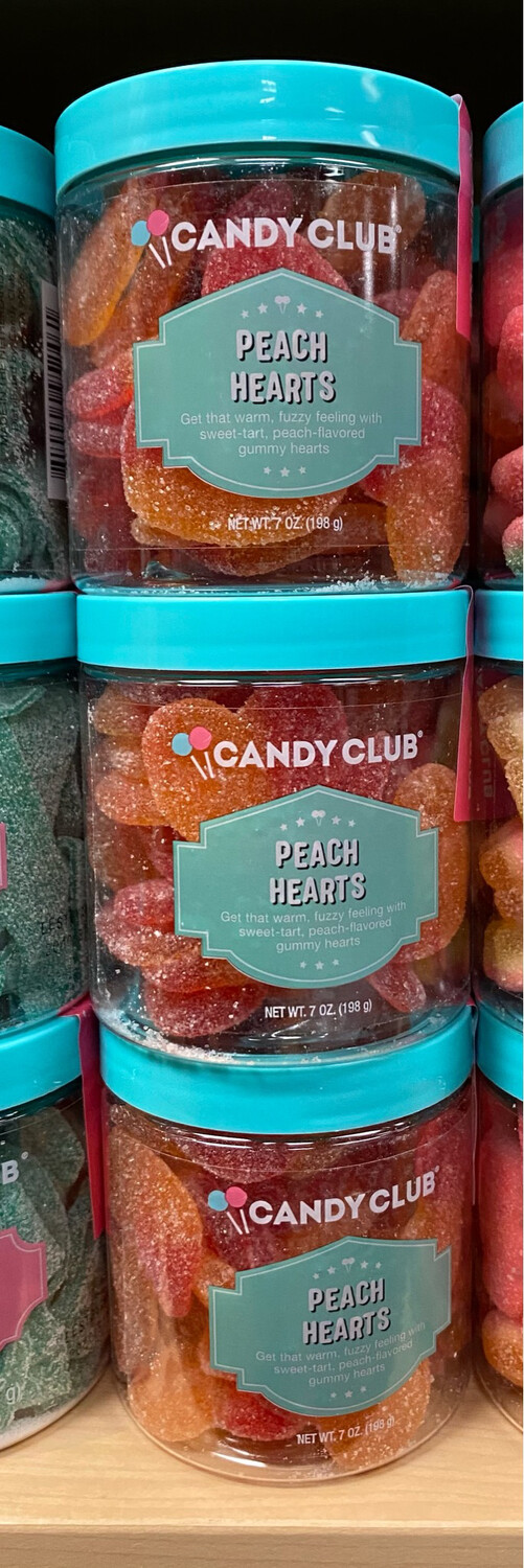Candy C Peach Hearts