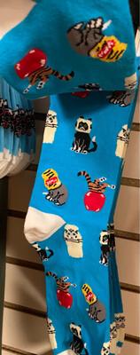 Headline Stuck Cats Sock