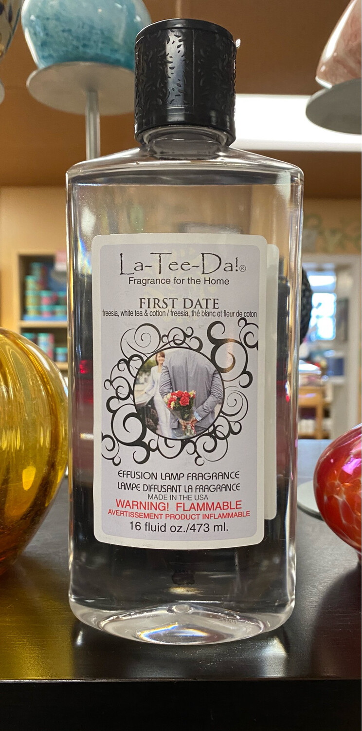 La Tee Da First Date Oil 16oz
