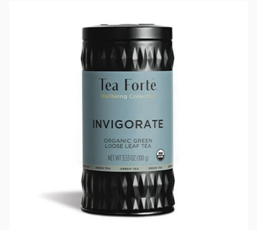 Tea Forte Invigorate Organic Green Loose Tea