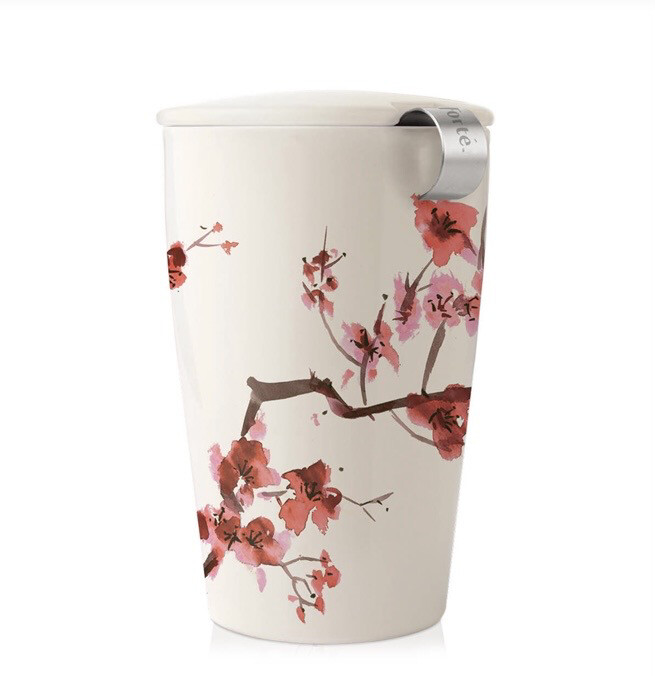 Tea Forte Cherry Blossoms Seeping Cup
