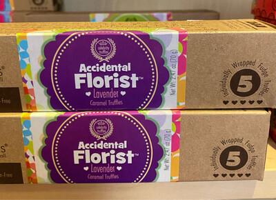 Accidental Florist Lavender Caramel Truffles