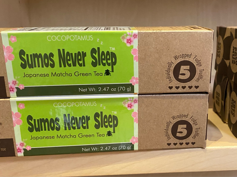 Sumos Never Sleep Japanese Matcha Green Tea