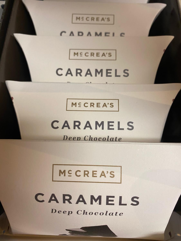McCrea's Deep Chocolate Caramel Pillow Box