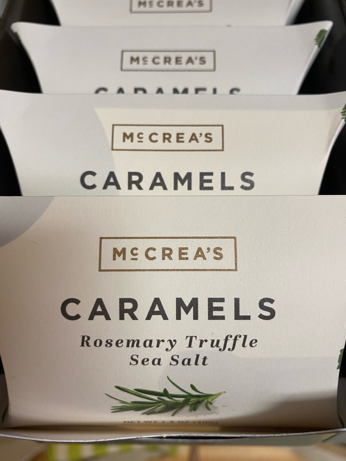 McCrea's Rosemary Truffle & sea Salt Caramel Pillow Box
