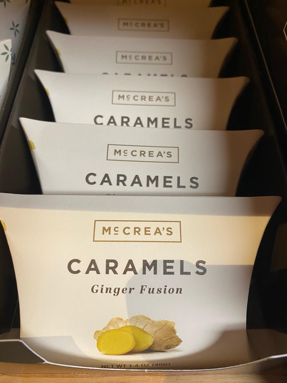 McCrea's Ginger Fusion Caramels
