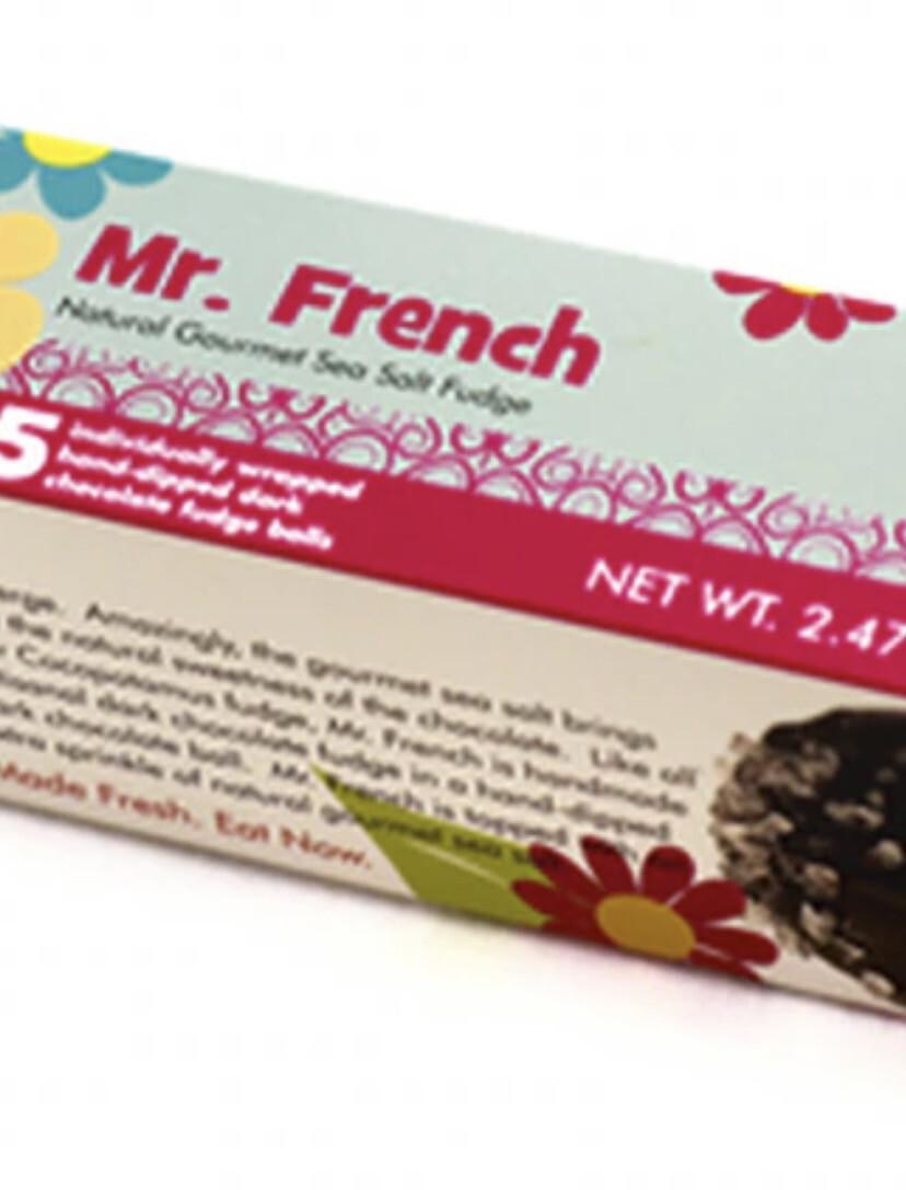 Mr French Natural Gourmet Sea Salt Fudge