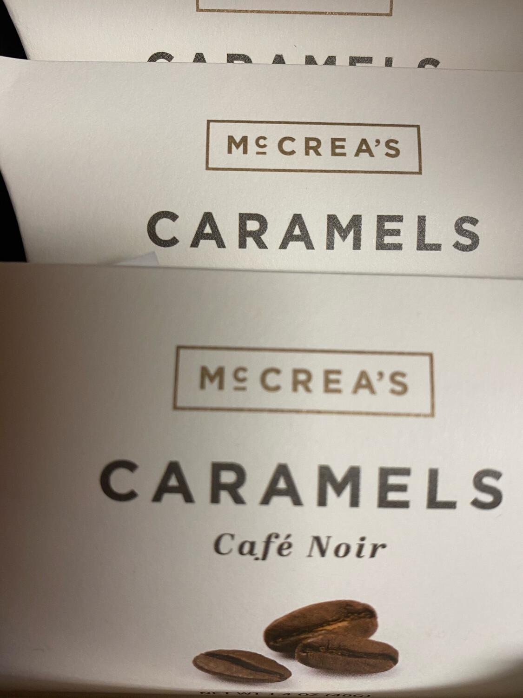 McCrea's Cafe Noir Caramel Pillow Box