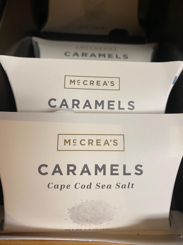 McCrea's Cape Cod Sea Salt Caramel Pillow Box