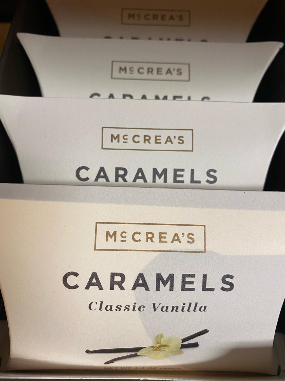 McCrea's Classic Vanilla Caramel Pillow Box