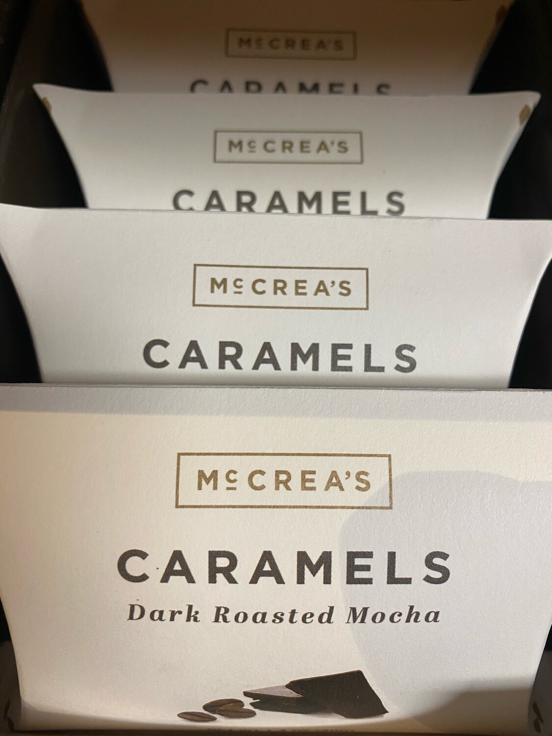 McCrea's Dark Roasted Mocha Caramel Pillow Box
