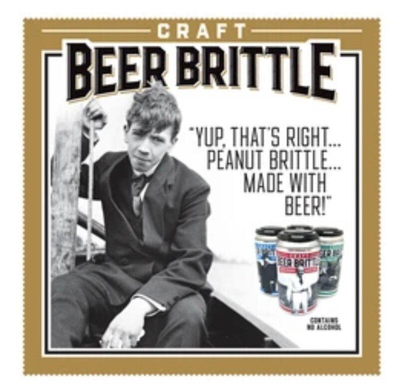 BJ 4 Pk Beer Brittle