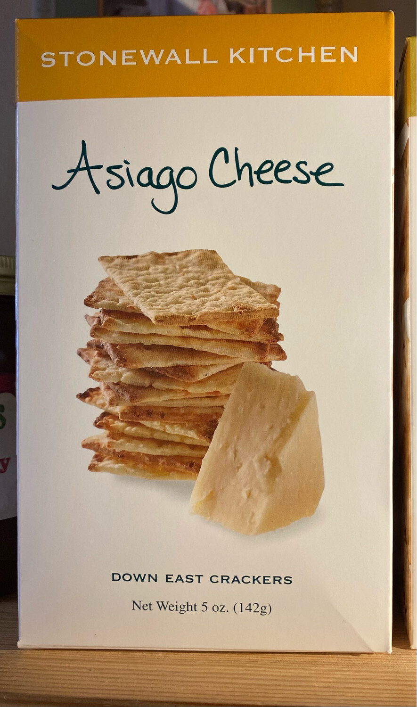 Stonewall Kitchen Asiago Cheese Crackers