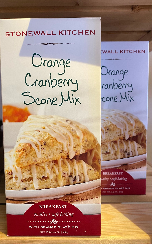 Stonewall Kitchen Orange Cranberry Scone Mix