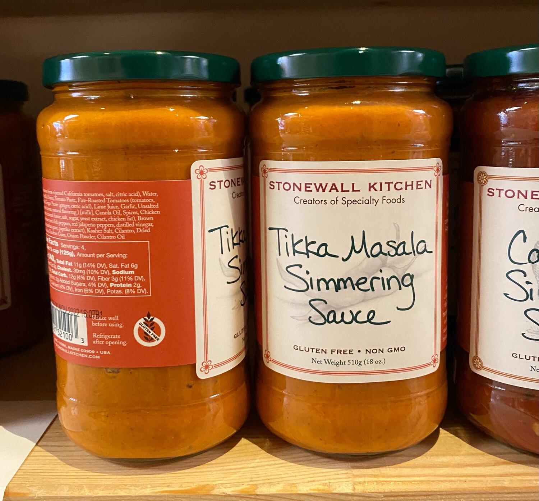 Stonewall Kitchen Tikka Marsala Simmering Sauce