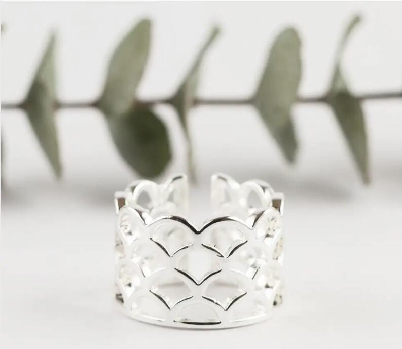 WA Amatheia Ring Silver