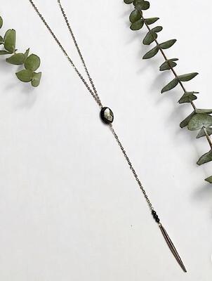 WA Altruism Necklace Gold Pyrite