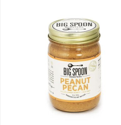 BS Peanut Pecan Nutbutter 13 Oz