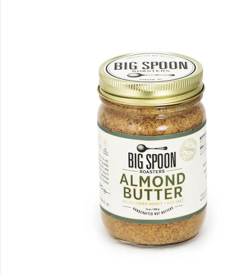 BS Almond Wilflower Honey Sea Salt Nutbutter