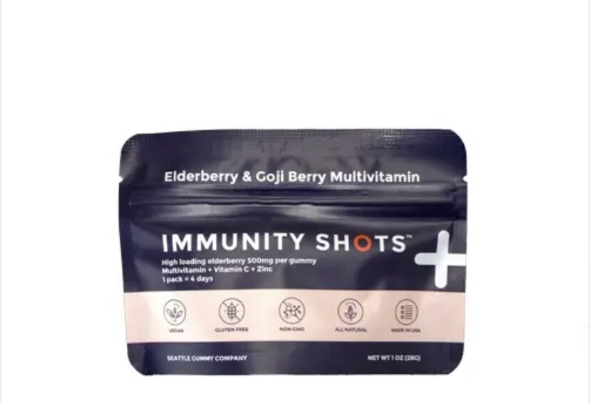 MS Elderberry Immunity Shot Gummy