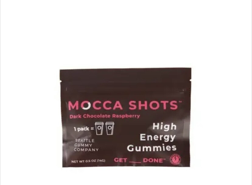 Ms Dark Chocolate Raspberry High Energy Gummy